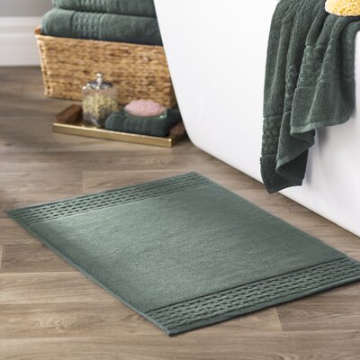 Pierce Bath Mat Color: Water Green
