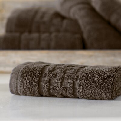Pierce Washcloth Color: Faded Espresso