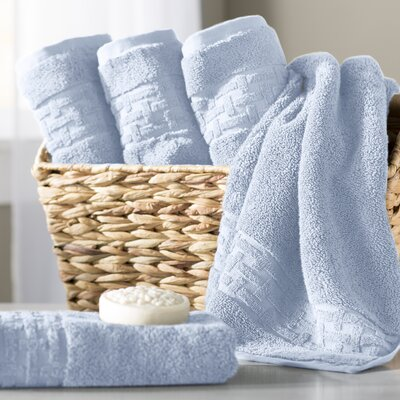 Pierce Hand Towel Color: Sky Blue