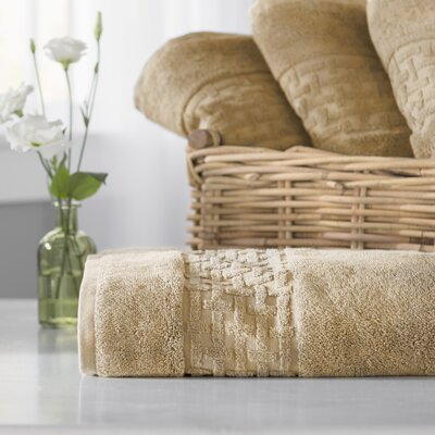 Pierce Bath Towel Color: Wheat