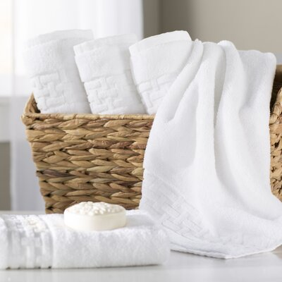 Pierce Hand Towel Color: White