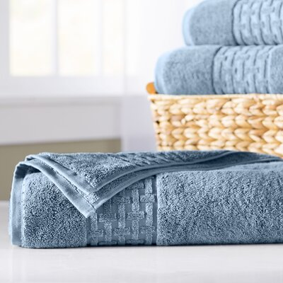 Pierce Bath Sheet Color: King Fisher Blue
