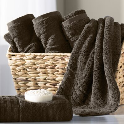 Pierce Hand Towel Color: Faded Espresso