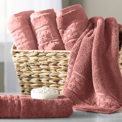 Pierce Hand Towel Color: Nantucket Red