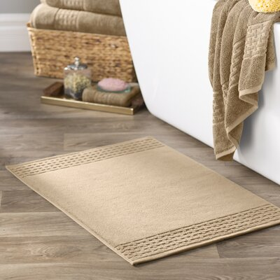 Pierce Bath Mat Color: Wheat