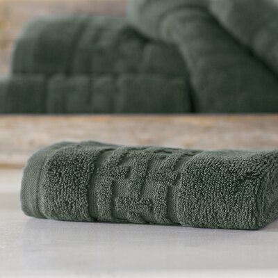Pierce Washcloth Color: Water Green