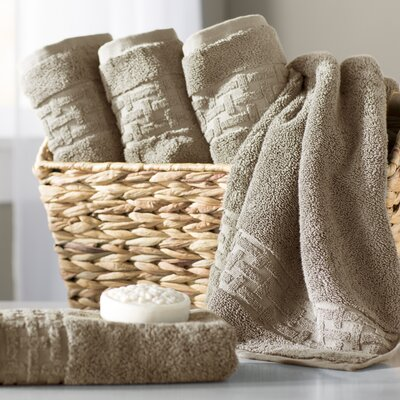 Pierce Hand Towel Color: Wheat