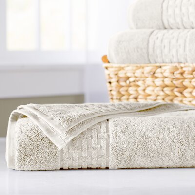 Pierce Bath Sheet Color: Cream