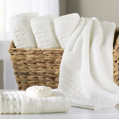 Pierce Hand Towel Color: Cream