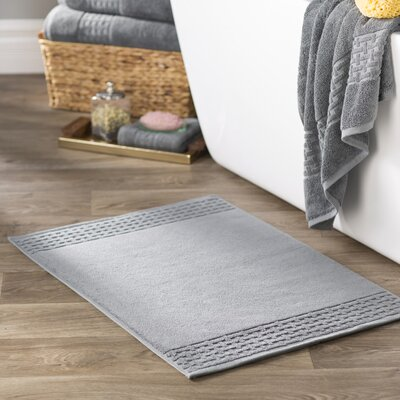 Pierce Bath Mat Color: Stone Grey