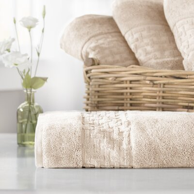 Pierce Bath Towel Color: Linen