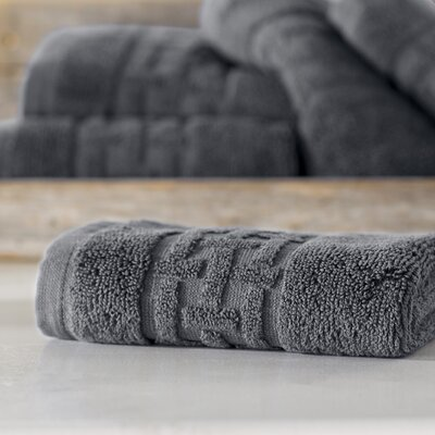 Pierce Washcloth Color: Charcoal Gray