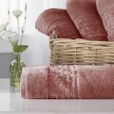 Pierce Bath Towel Color: Nantucket Red