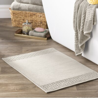 Pierce Bath Mat Color: Cream