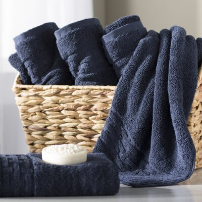 Pierce Hand Towel Color: Windsor Navy