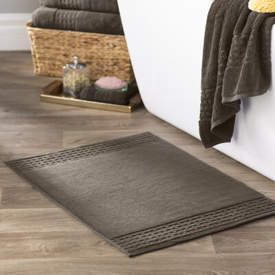 Pierce Bath Mat Color: Faded Espresso