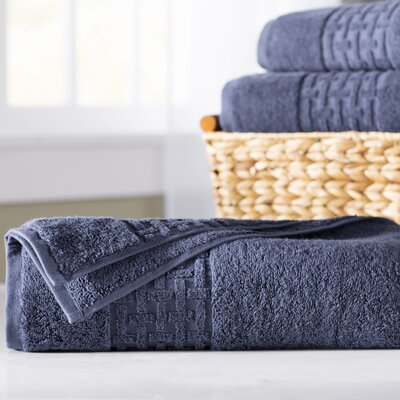 Pierce Bath Sheet Color: Windsor Navy