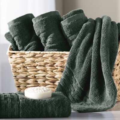 Pierce Hand Towel Color: Water Green