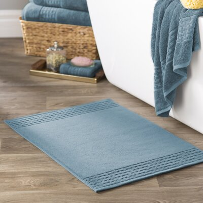 Pierce Bath Mat Color: Faded Denim