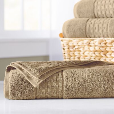 Pierce Bath Sheet Color: Wheat