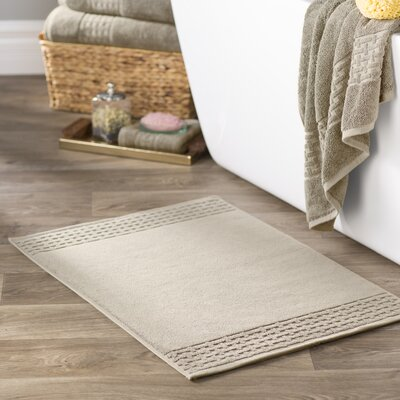 Pierce Bath Mat Color: Linen