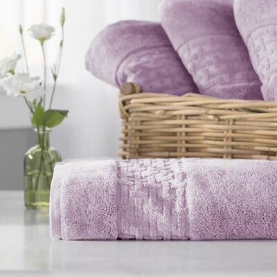 Pierce Bath Towel Color: April Purple