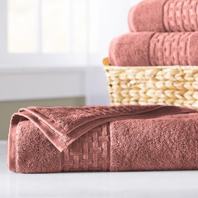 Pierce Bath Sheet Color: Nantucket Red