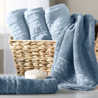 Pierce Hand Towel Color: Faded Denim