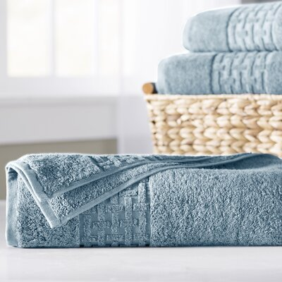 Pierce Bath Sheet Color: Faded Denim