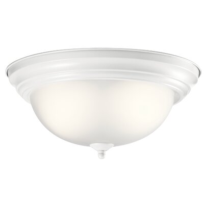 Twedt 2-Light Flush Mount Size: 6 H x 13.25 W x 13.25 D