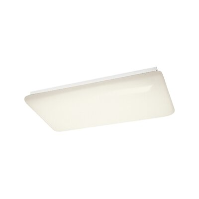 Herrin Linear 1-Light LED Flush Mount Size: 3.25 H x 10.25 W x 51 D