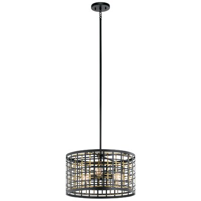 Durrell 3-Light Drum Pendant