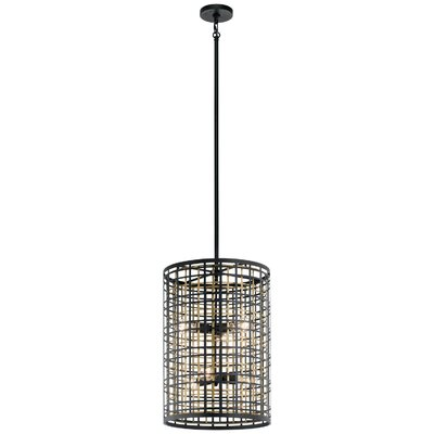 Durrell 6-Light Drum Pendant