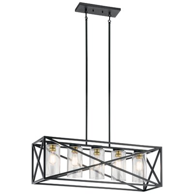 Dusty 5-Light Kitchen Island Pendant