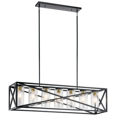 Dusty 7-Light Kitchen Island Pendant