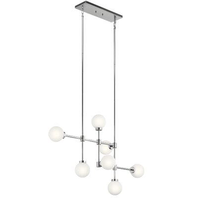 Holahan 7-Light Sputnik Chandelier