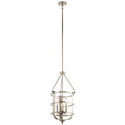 Hornbuckle 3-Light Foyer Pendant