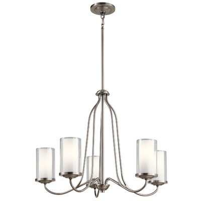 Vanover 5-Light Candle-Style Chandelier Finish: Classic Pewter