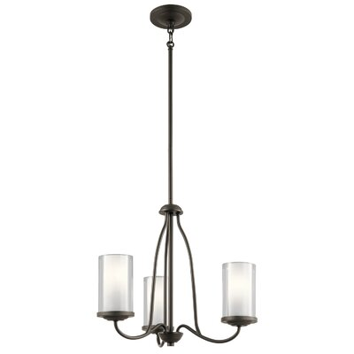 Vanover 3-Light Candle-Style Chandelier Finish: Olde Bronze