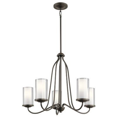 Vanover 5-Light Candle-Style Chandelier Finish: Olde Bronze