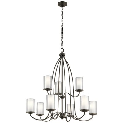 Vanover 9-Light Candle-Style Chandelier Finish: Olde Bronze