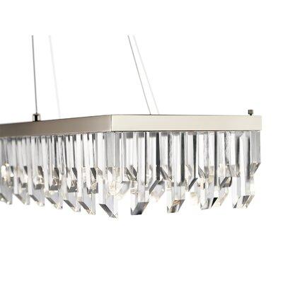 Deanne 4-Light LED Crystal Pendant