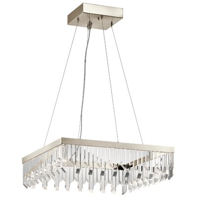 Dearing 6-Light LED Crystal Pendant