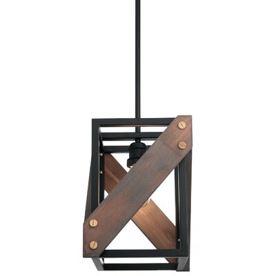 Covin Cross 1-Light Mini Pendant