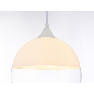 Mclachlan 1-Light Mini Pendant Finish: Matte White