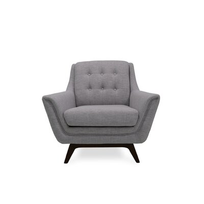 Worthley Lounge Armchair Upholstery: Light Gray