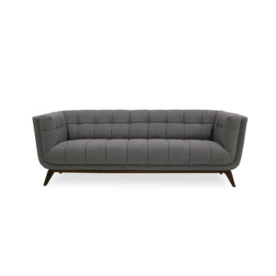 Worle Mid Century Modern Chesterfield Sofa