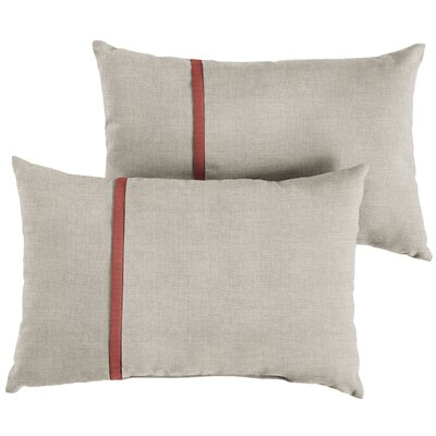 Dunanney Indoor/Outdoor Lumbar Pillow Size: 13 x 20