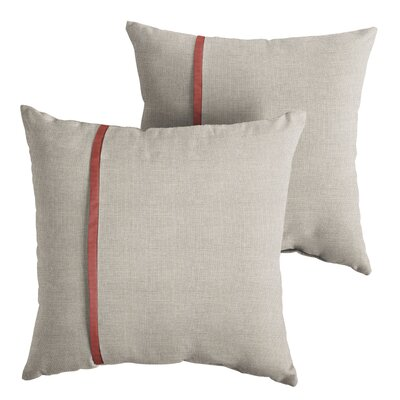 Dunanney Indoor/Outdoor Throw Pillow Size: 18 x 18