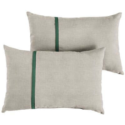 Dundressan Indoor/Outdoor Lumbar Pillow Size: 13 x 20